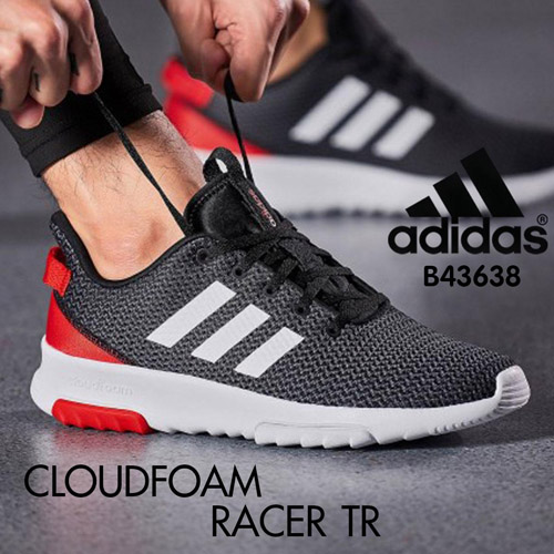 Adidas รองเท้าผ้าใบ รองเท้าวิ่ง Sneakers & Running Shoes Cloudfoam Racer TR