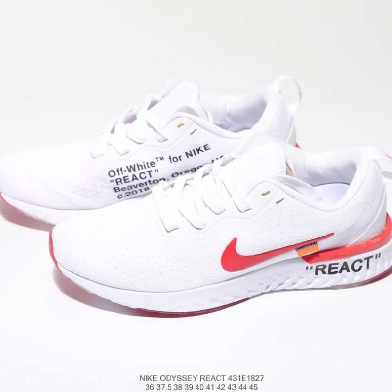 NIKE ODYSSEY REACT 2 Sport Sneakers Men Running Sport Shoes and women Running Shoes nike running รองเท้าวิ่งNikeผู้ชาย