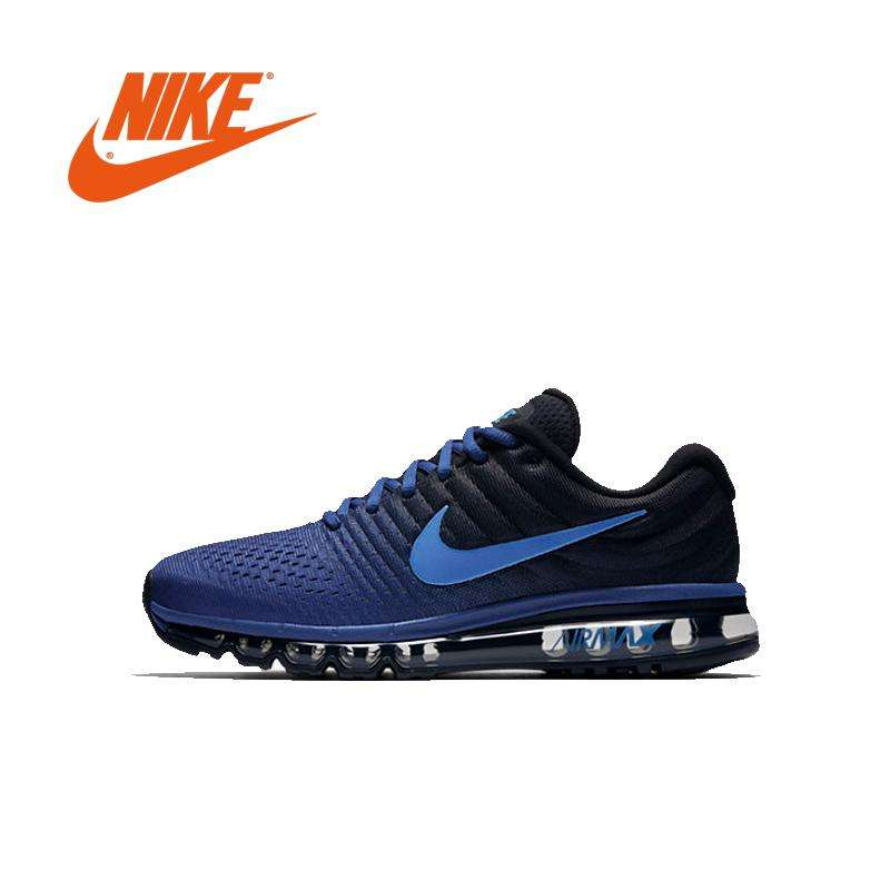 Original NIKE_ Air MAX_ 2017 Running shoes full palm technology Sports Men shoes Sneakers walking jogging 40-45